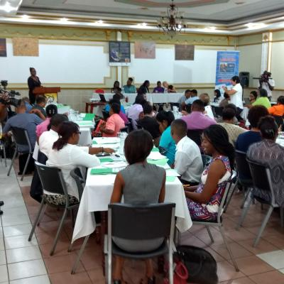 2 Day Project Launch Workshop Suriname - Guyana