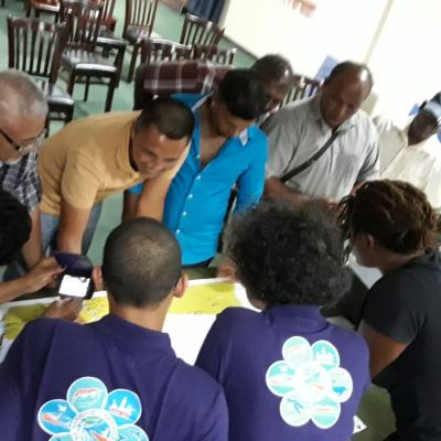 Community Engagement: Nickerie